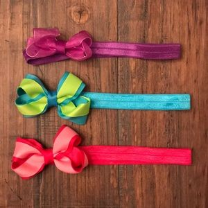 Other - 💰Set of 3 Head-wrap bows